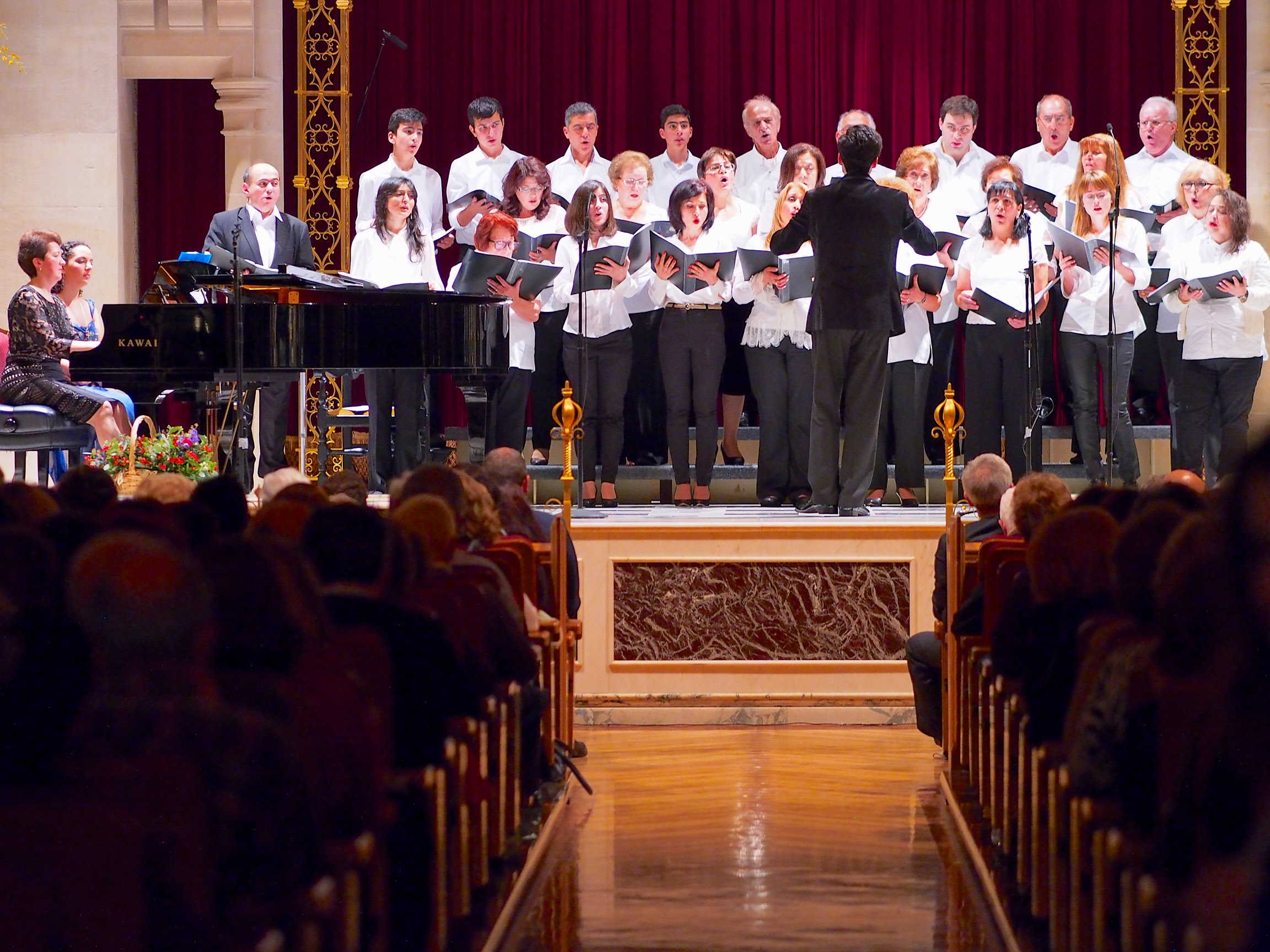 Concert for the 145th Anniversary of Komitas on 18th October 2014