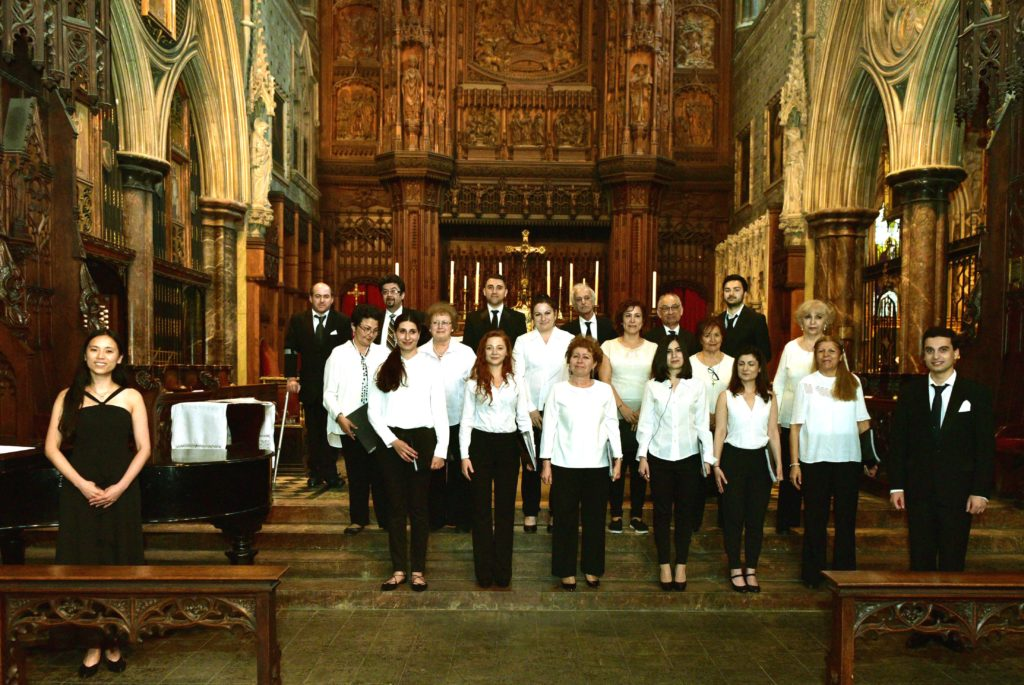 Komitas Choir (Dialogue between Music and Palette 11th June 2017)