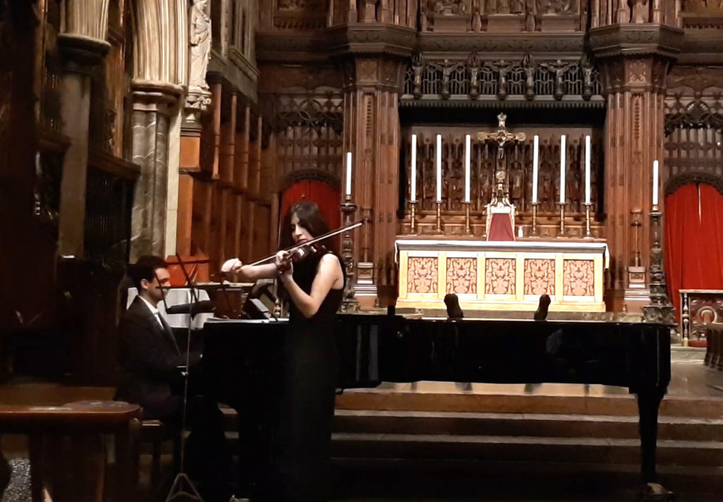 "Vocal Recital ""Love songs and Arias"" at St Cuthbert's Church 23.03.2019"