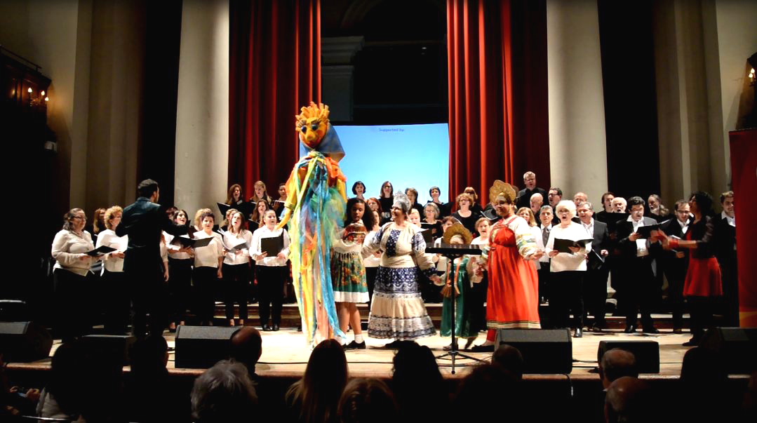Klingen Choir in Maslenitsa Celebration Concert with UK Russian choirs at St John's Smith Square, We