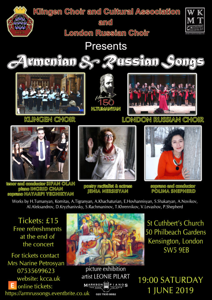 Armenian & Russian Songs