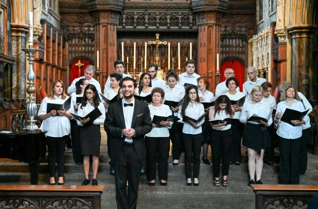Armenian & Russian Songs dedicated to the 150th Birth anniversary of H.Tumanyan at St Cuthbert's